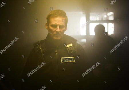 Stock Image of Anthony Flanagan as PC Sean Cobley.