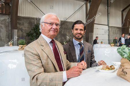 King Carl Gustaf excursion at Stenhammar Palace, Flen