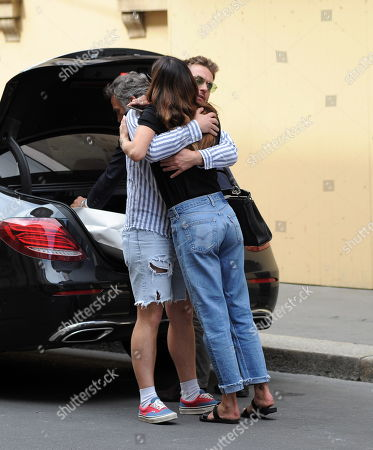 Editorial image of Belen Rodriguez out and about, Milan, Italy - 07 Jun 2019