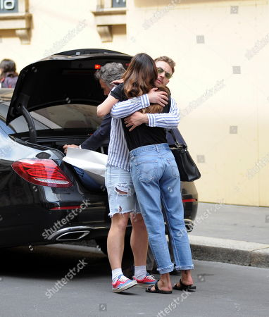 Editorial photo of Belen Rodriguez out and about, Milan, Italy - 07 Jun 2019