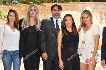 Anna Safroncik, Tiziana Rocca, Christian Solinas, Eva Longoria, Lola Ponce