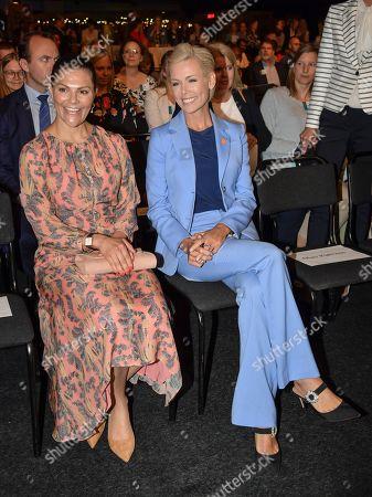 Crown Princess Victoria and Gunhild Stordalen