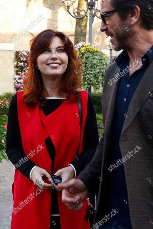 Vanessa Gravina and Paolo Conticini