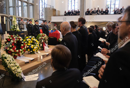 Editorial photo of Memorial Service for murdered politician Walter Luebcke, Kassel, Germany - 13 Jun 2019