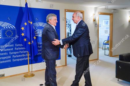 Antonio Tajani, Vangelis Meimarakis