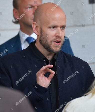 Stock Photo of Daniel Ek, Spotify founder