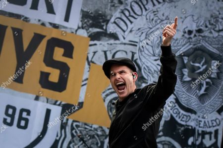 Alexander Martin Barr of US band Dropkick Murphys performs on the main stage during the Greenfield Openair Festival in Interlaken, Switzerland, 13 June 2019. The festival runs from 13 to 15 June.