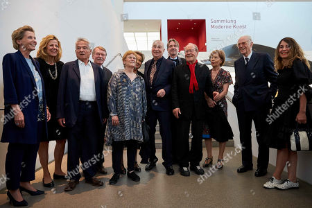 Editorial picture of Georg Baselitz donates art to Pinakothek der Moderne, Munich, Germany - 06 Jun 2019