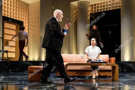 John Malkovich as Barney Fein, Doon Mackichan as Sondra, Ioanna Kimbook as Yung Kim Li and Alexander Arnold as Roberto