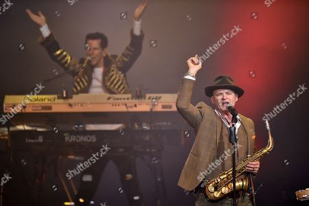 Editorial image of Alan Parsons in concert at Crocus City Hall, Moscow, Russia - 10 Jun 2019