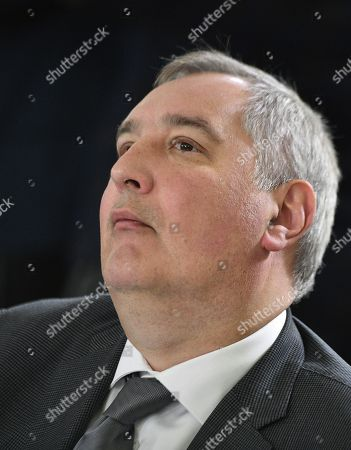 Dmitry Rogozin, Director General of the Roscosmos State Space Corporation during the meeting