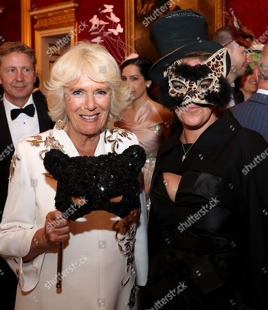 Camilla Duchess of Cornwall and Tracey Emin