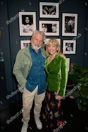 Dick Polak and wife Edina Ronay