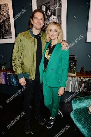 Stock Photo of Jesse Wood and Fearne Cotton