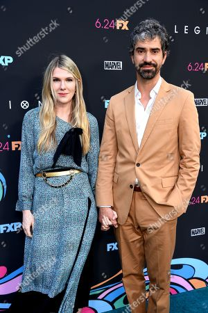 Lily Rabe and Hamish Linklater