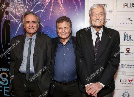 Joe Dante, Meir Fenigstein and Roger Corman