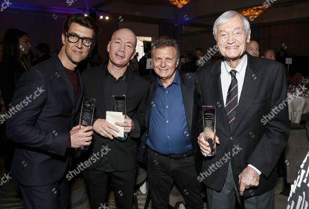 Guy Nattiv, Meir Fenigstein and Roger Corman