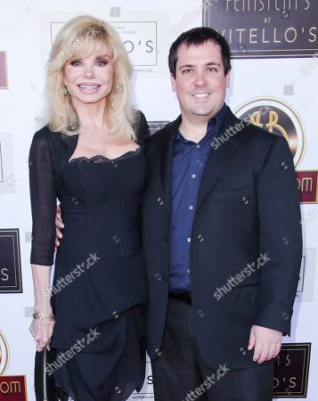 Stock Picture of Loni Anderson and son Quinton