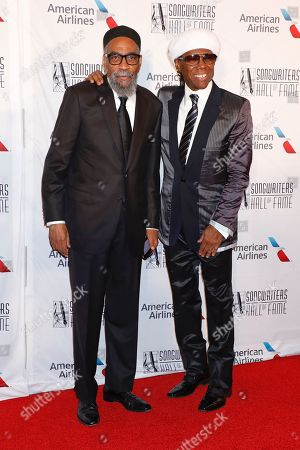 Stock Picture of Kenny Gamble and Nile Rodgers