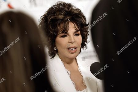 Carole Bayer Sager speaks with the media during the 2019 Songwriters Hall of Fame Awards Gala at the Marriott Marquis Hotel in New York, New York, USA, 13 June 2019.