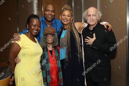 Farah Griffin, Jimmie Briggs, Sonia Sanchez, Asha Bandele, Timothy Greenfield-Sanders
