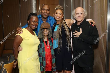 Stock Picture of Farah Griffin, Jimmie Briggs, Sonia Sanchez, Asha Bandele, Timothy Greenfield-Sanders