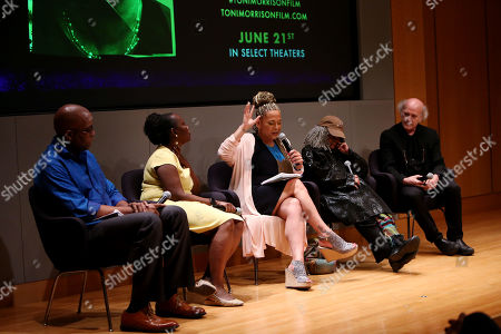 Jimmie Briggs, Farah Griffin, Asha Bandele, Sonia Sanchez, Timothy Greenfield-Sanders