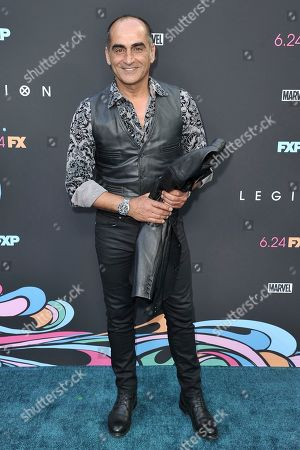 "Navid Negahban attends the LA premiere of ""Legion"" Season 3 at ArcLight Cinemas - Hollywood, in Los Angeles"