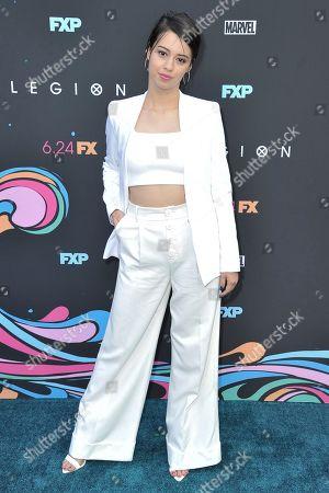 "Amber Midthunder attends the LA premiere of ""Legion"" Season 3 at ArcLight Cinemas - Hollywood, in Los Angeles"