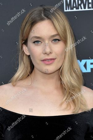 "Rachel Keller attends the LA premiere of ""Legion"" Season 3 at ArcLight Cinemas - Hollywood, in Los Angeles"