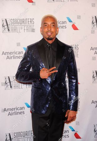 Dallas Austin appears on the red carpet at the 50th annual Songwriters Hall of Fame induction and awards ceremony at the New York Marriott Marquis Hotel, in New York
