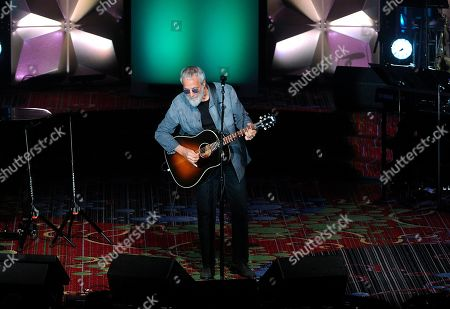 Yusuf Islam performs on stage at the 50th annual Songwriters Hall of Fame induction and awards ceremony, in New York