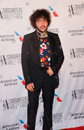 Dallas Austin walks the red carpet at the 50th annual Songwriters Hall of Fame induction and awards ceremony at the New York Marriott Marquis Hotel, in New York