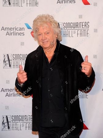 John Lodge walks the red carpet at the 50th annual Songwriters Hall of Fame induction and awards ceremony at the New York Marriott Marquis Hotel, in New York