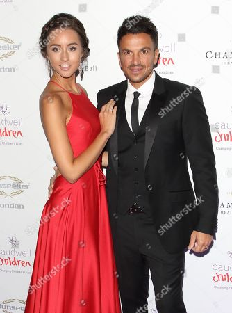 Stock Image of Emily Andréa and Peter Andre
