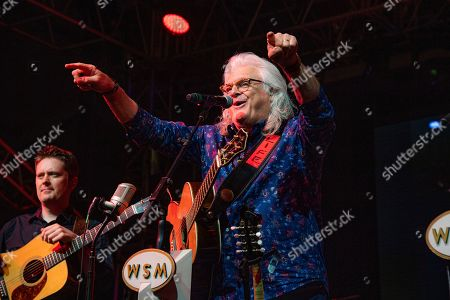 Ricky Skaggs performs during the Grand Ole Opry performance at the Bonnaroo Music and Arts Festival, in Manchester, Tenn