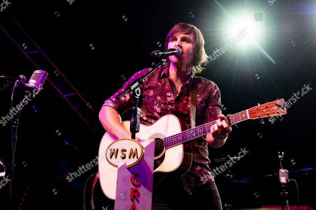 Charlie Worsham performs during the Grand Ole Opry performance at the Bonnaroo Music and Arts Festival, in Manchester, Tenn