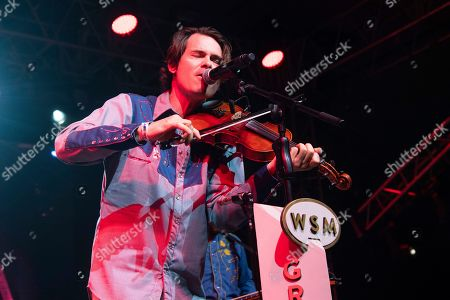 Ketch Secor performs during the Grand Ole Opry performance at the Bonnaroo Music and Arts Festival, in Manchester, Tenn
