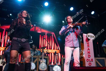 Wendy Moten, Ketch Secor. Wendy Moten, left, and Ketch Secor perform during the Grand Ole Opry performance at the Bonnaroo Music and Arts Festival, in Manchester, Tenn