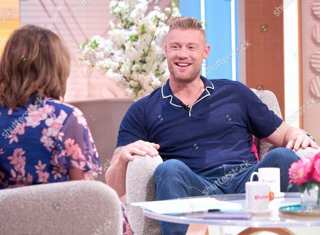 Lorraine Kelly and Andrew 'Freddie' Flintoff