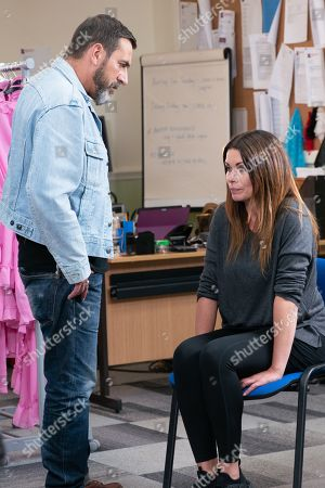 Ep 9812 Wednesday 3rd July 2019 - 2nd Ep Peter Barlow, as played by Chris Gascoyne, is worried that Carla Connor's, as played by Alison King, psychosis is making her do rash things