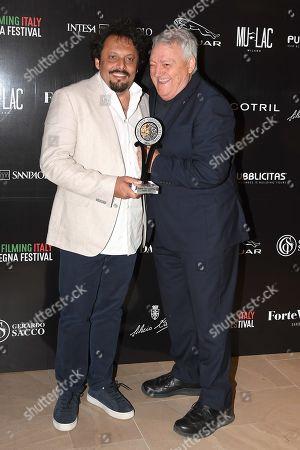 Enrico Brignano with Gerardo Sacco