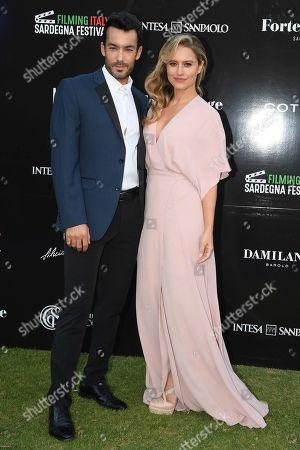 Lola Ponce and Aaron Diaz