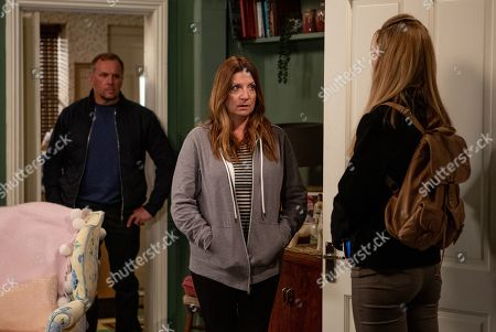 Ep 8518 Thursday 27th June 2019 - 1st Ep Dawn's, as played by Olivia Bromley, suspicions are confirmed and she heads to Woodbine - accusing Harriet Finch, as played by Katherine Dow Blyton, of sleeping with Will, as played by Dean Andrews. How will she react when he steps into the room?