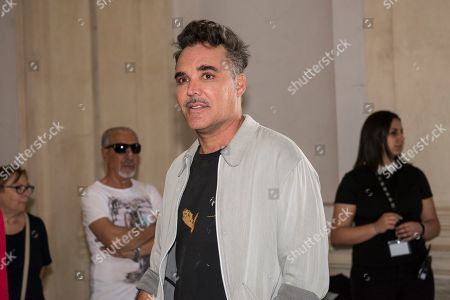 The artist David LaChapelle attends at his exhibition