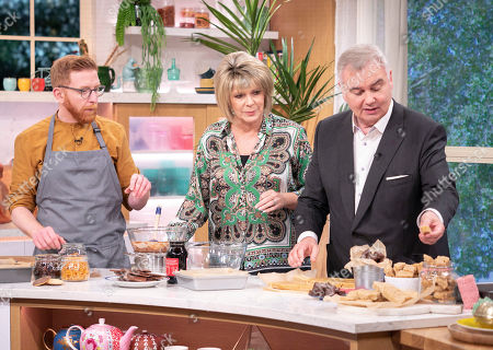 Paul A Young, Eamonn Holmes and Ruth Langsford