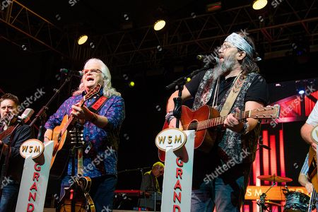 Ricky Skaggs, Steve Earle. Ricky Skaggs, left, and Steve Earle perform during the Grand Ole Opry show at the Bonnaroo Music and Arts Festival, in Manchester, Tenn