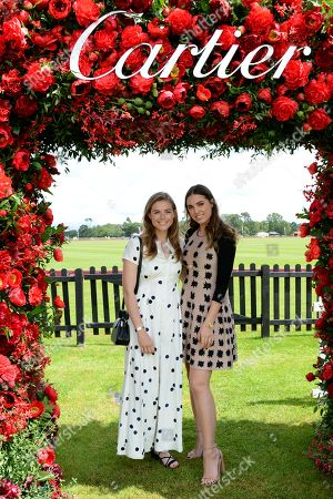 Rosie Tapner and Amber Le Bon
