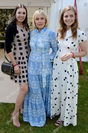 Amber Le Bon, Mika Simmons and Rosie Tapner