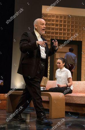 John Malkovich as Barny Fein, Ioanna Kimbook as Yung Kim Li